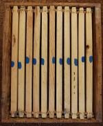 обелязване на рамки в пчелен кошер - метод 2