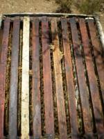 обелязване на рамки в пчелен кошер - метод 3