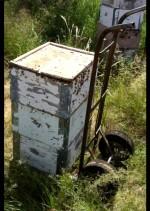 пчеларска количка в употреба